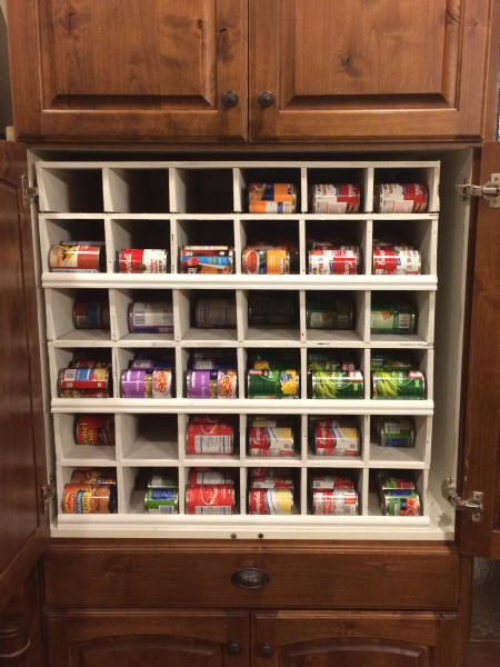 Building Canned Food Organizer