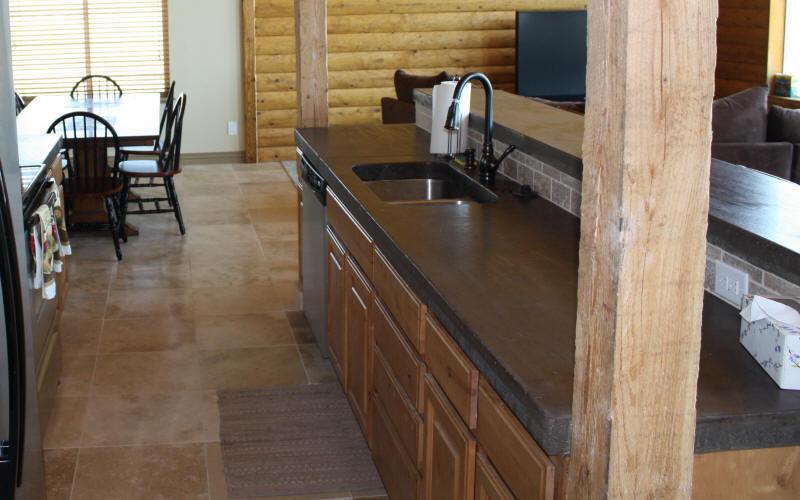Polished Concrete Countertop