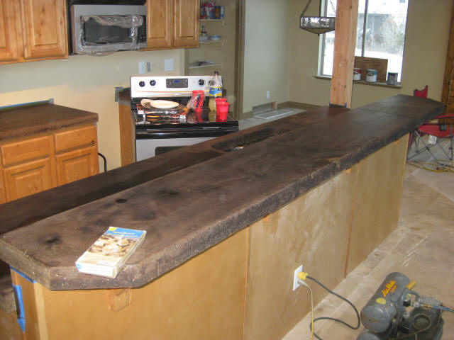step 4 acid staining concrete countertops. Black Bedroom Furniture Sets. Home Design Ideas