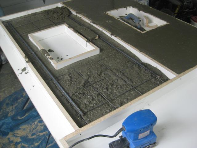 Mix Concrete Countertops