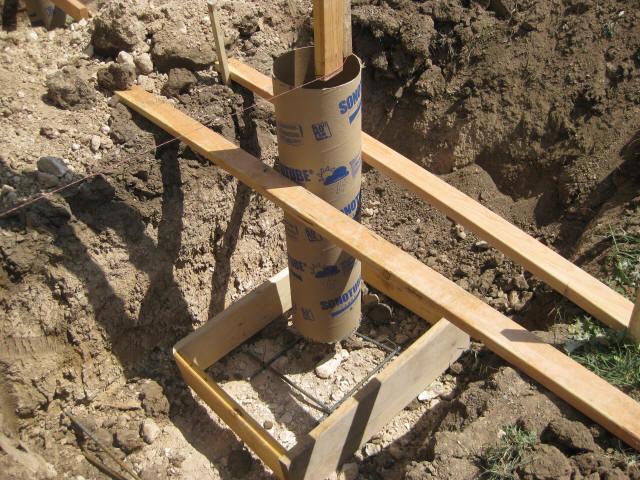 Installing Deck Footings