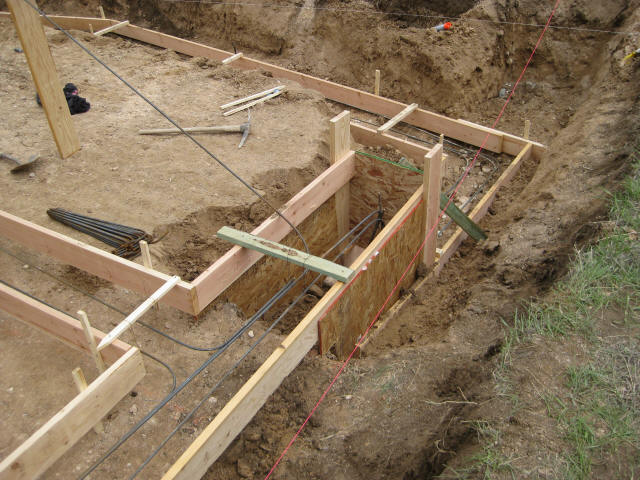 footing stepdown - House Footer