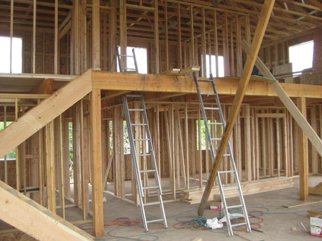 interior walls framing