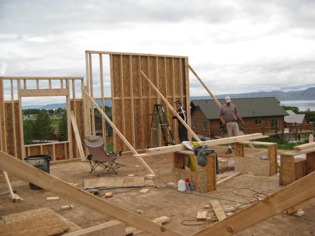 Framing an Exterior Wall
