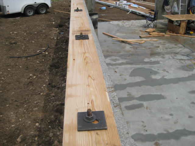 Wooden Floor Framing