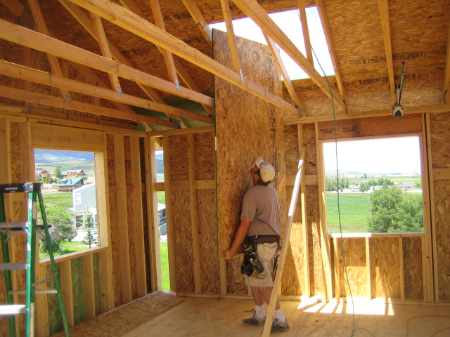 Install Roof Trusses Once The Trusses Are Installed