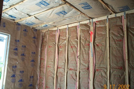 Berryget blog How to add insulation to exterior walls