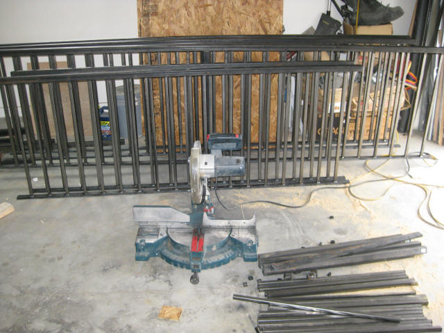 Building Metal Railings