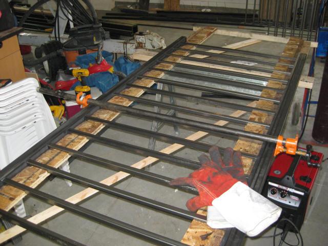 Building Metal Railings