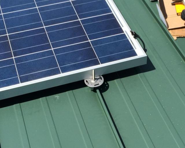 Solar On Metal Roof