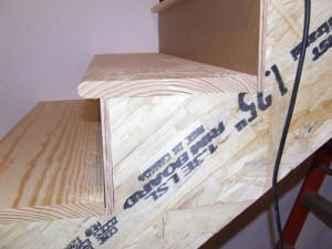 Stair Stringers. Building Stairs. Decoration Hardwood Stair Tread  Installation Tools Oak How ...
